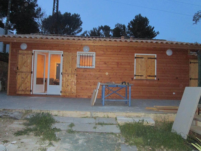 Ossature plein pied 50 m2 2 chambres maison ossature - Maison en bois plein pied ...